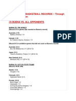 3  buena girls basketball records