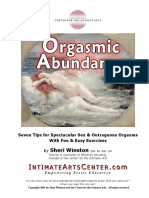 Free Orgasmic Abundance E-Book