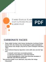 Batuan Karbonat-Kuliah 08-09-Fasies Dan Lingkungan