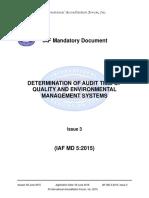 IAFMD5 AuditDuration Issue311062015.pdf