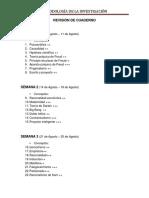 Metodología - Cuaderno