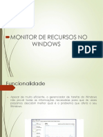 Monitor de Recursos do Windows