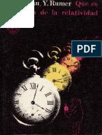 Landau, Rumer - Que es la teoria de la relatividad (Editorial Mir - 8ª Ed.).pdf
