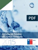 Informe de Gestión_2015_ Servicios Sanitarios_ Chile.