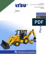 Catalogo Retroexcavadora Wb97r-5e0