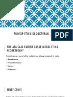 Prinsip Etika Kedokteran