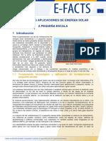 Aplicaciones de Energia Solar
