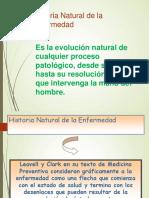 Historia Natural y Niveles de Prevencion Final