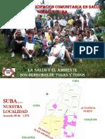 Diagnostico Copacos Suba -Observatorio 2014