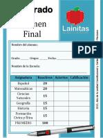 5to Grado - Examen Final (2013-2014).pdf