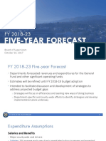 Santa Barbara County Fiscal Year 2018-23 Forecast