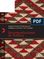 Agricultura Familiar en América Latina y El Caribe_ Recomendaciones de Políticas