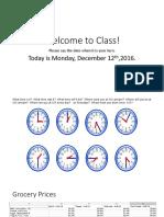 BCEC Class Outline 12 12 16