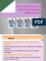 Kesan Positif Dan Negatif Urbanisasi
