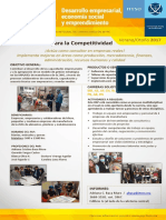 Cartel PAP Competitividad