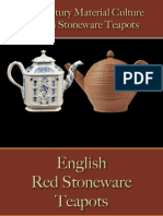 Drinking - Beverages - Tea Pots - Stoneware - English