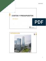 Clase-1- Upn-costos y Pstos- Ene 2016
