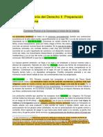 Resumen Historia del Derecho II- Preparación Prueba Solemne