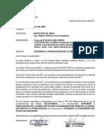 2da Carta Paralizacion de Obra II