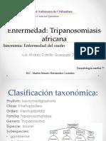 Tripanosomiasis africana