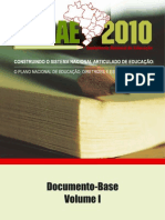 CONAE - Documento Base (Volume I)