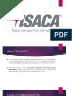 Isaca and Iia