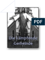 H. Kesten - Die kämpfende Gemeinde (Kleine Gemeinden und der Abfall in der Organisation der Siebenten Tags Adventisten)
