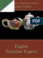 Drinking - Beverages - Tea Pots Porcelain