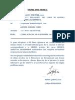 Informe Del Los Cationes Del Grupo II