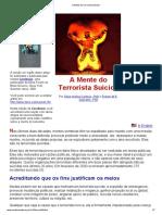 A Mente Do Terrorista Suicida - Silvia H. Cardoso