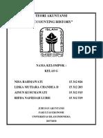 Teori Akuntansi - Accounting History