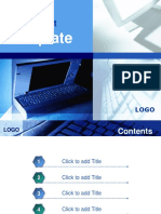 Computer Information Technology PowerPoint Template