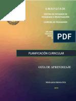 GUÍA DIDÁCTICA PLANIFICACIÓN CURRICULAR