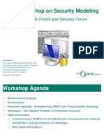 Joint Workshop on Security Modeling
