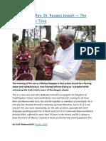 Sri Lanka  Rt. Rev. Dr. Rayapu Joseph — The Prophet of our Time.docx