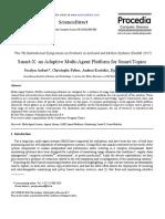 Smart-X an Adaptive Multi-Agent Platform for Smart-Topics