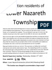 Lower Nazareth Meeting
