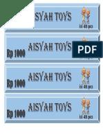Aisyah Toys
