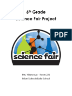 6th grade science fair packet