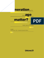 The Generation Game - Does Age Matter