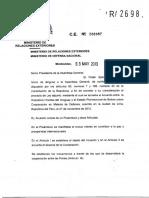 03.05.2013. Bolívia-Uruguay. Acuerdo de cooperación en materia de defensa.pdf