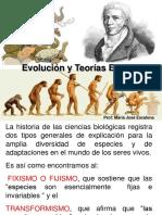 I° Medio-(2) Evolución y Teorias evolutivas