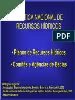 PNRH - Política Nacional dos Recursos Hídricos