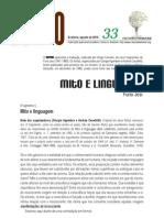 Sopro 33 - Mito e linguagem (fragmentos de Furio Jesi)
