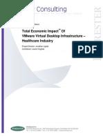 Forrester VMware Healthcare TEI