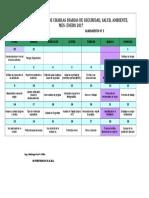 Cronograma de Charlas Prejornadas - Enero 2017