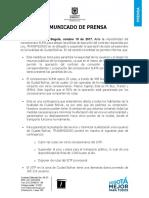 Transmilenio suspende a otro operador del SITP en Ciudad Bolívar