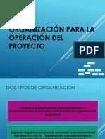 Fap - Organizacion Del Proyecto