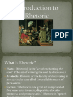 dtintroduction to rhetoric1