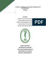 Propiedades Físicas y Químicas de Los Ácidos Carboxílicos y Sus Derivados